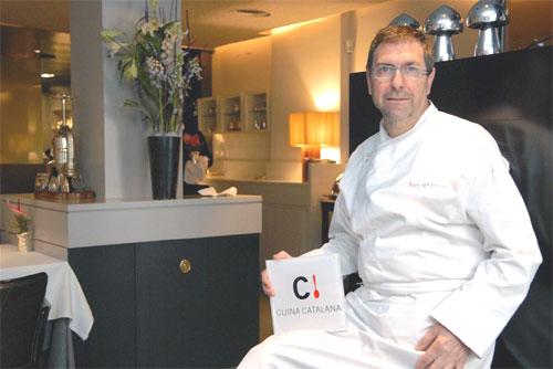 Restaurante con logotipo Cuina Catalana