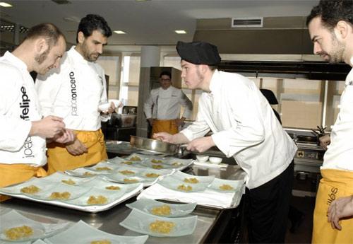 Los mejores cocineros espa oles impartir n clases - Los mejores cursos de cocina en madrid ...