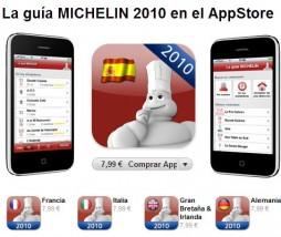 Guía Michelin para iPhone