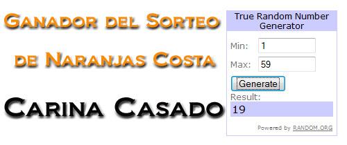 Naranjas Costa
