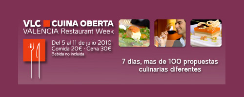 Valencia Restaurant Week