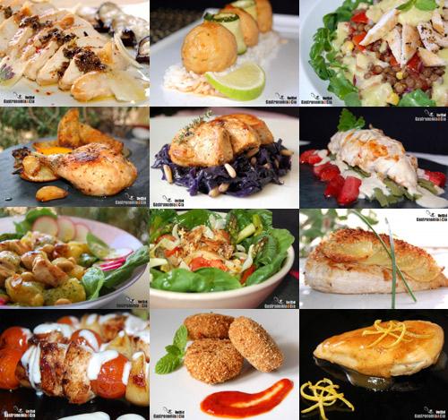 Doce recetas ligeras con pollo gastronom a c a for Opciones de cenas ligeras