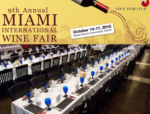 Feria de vinos en Estados Unidos