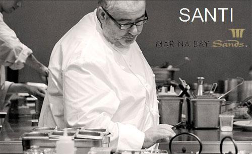 Santi Santamaría Singapur