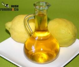 Aceite de limón y pimienta