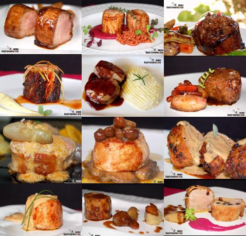 Doce recetas con solomillo de cerdo Solomillo iberico al horno