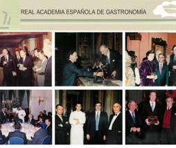 La Real Academia Española de Gastronomía es una corporación de derecho público