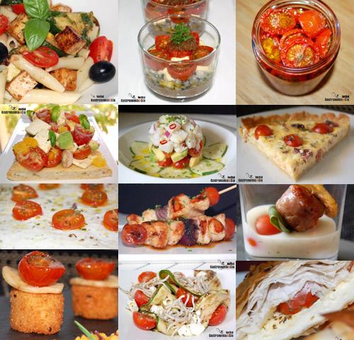 comida con tomates