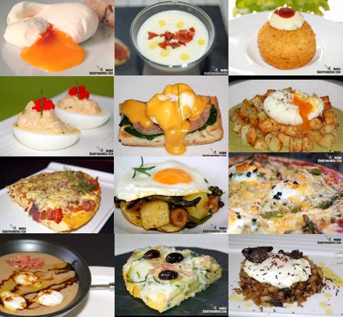 Recetas huevos