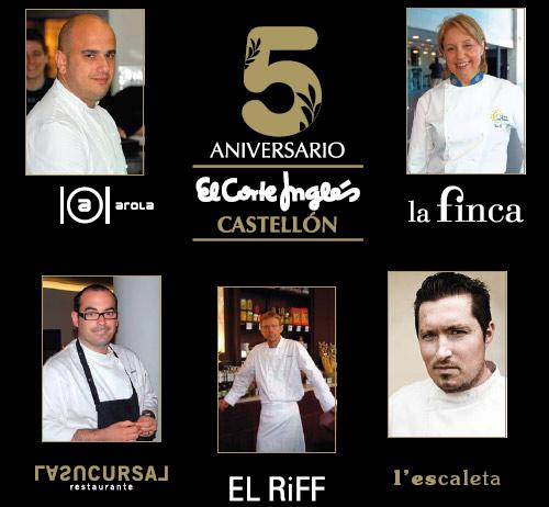 5º Aniversario de El Corte Inglés de Castellón