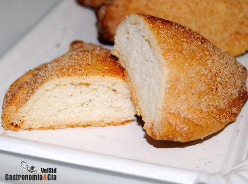 Pastissets de requesón y almendra