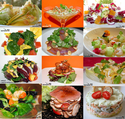 Ensaladas para navidad gastronom a c a for Ideas ensaladas originales