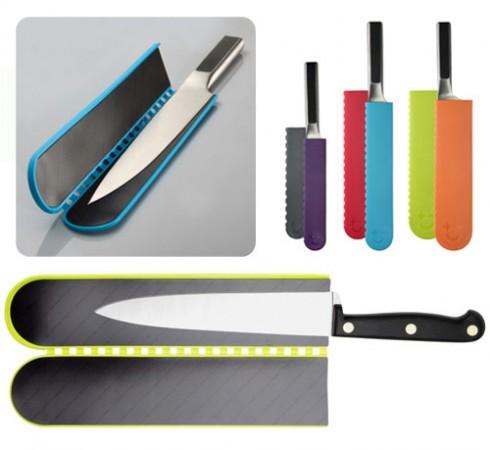 Fundas para cuchillos de cocina gastronom a c a - Iman para cuchillos ...