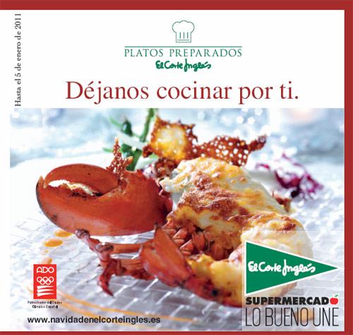 Menus Para Navidad De El Corte Ingles 2010 Gastronomia Cia