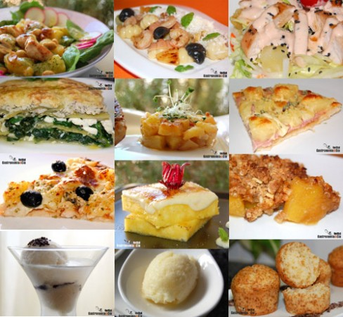 Doce Recetas Con Pi A Gastronom A C A