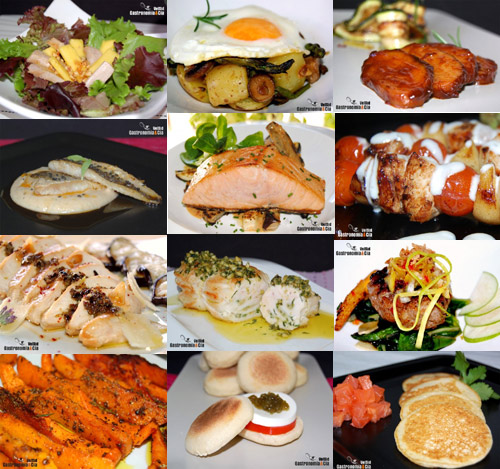 Verduras, huevos, carnes, pescados, pan...