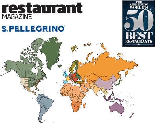 Lista de los mejores 50 restaurantes del mundo
