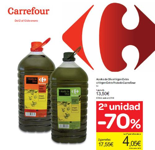 Aceite de oliva carrefoir