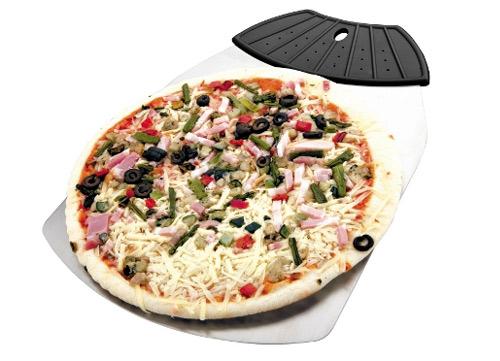 Pala para pizza gastronom a c a for Pala horno pizza