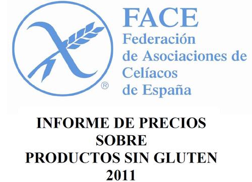 Precios alimentos sin gluten 2011 - Alimentos sin gluten para celiacos ...