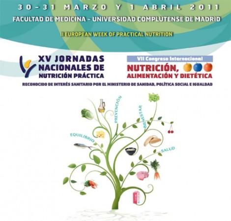 XV Edición de las Jornadas Nacionales de Nutrición Práctica