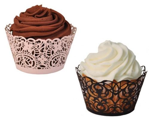 Cómo hacer envoltorios o wrappers para cupcakes