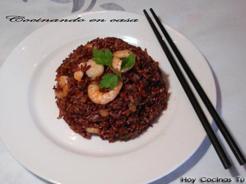 Recetas con arroz rojo integral