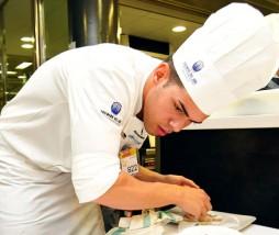 Juan Jiménez, segundo semifinalista del Concurso Cocinero del Año 2012