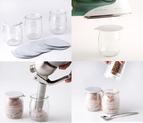 Vasos de yogur con tapa termosellable - Vasos para yogurt ...