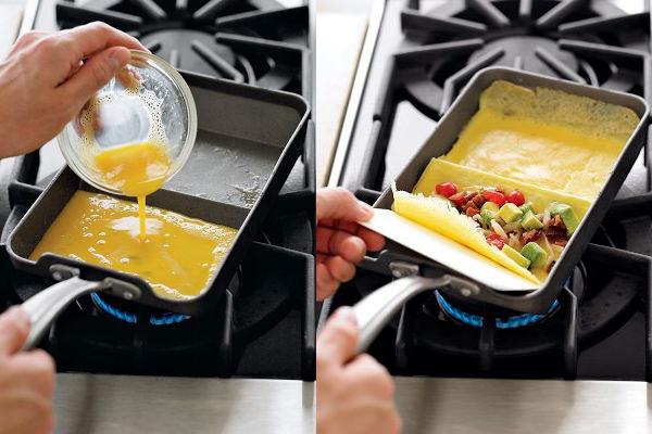 Sart n para tortilla enrollada gastronom a c a - Sartenes para tortilla ...