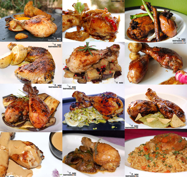 Informacion nutricional pata de muslo pollo