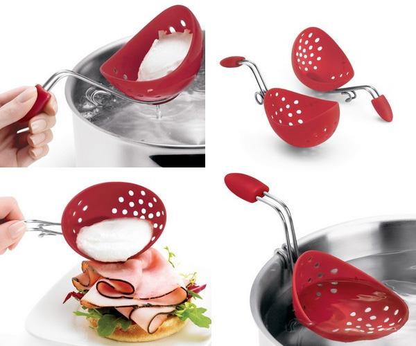 Escalfador de huevos de silicona gastronom a c a - Utensilios de cocina de silicona ...