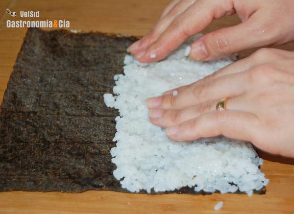 C mo hacer arroz para sushi for Como hacer arroz para sushi