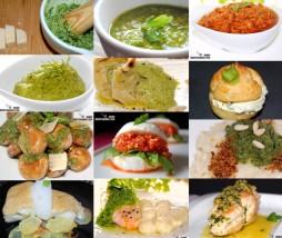 Doce recetas con pesto