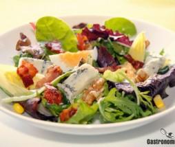 Ensalada con gorgonzola