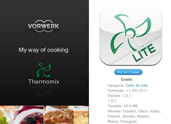 Recetas de cocina con Thermomix