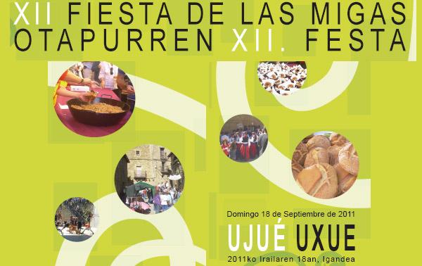 Fiesta de las Migas de Uxue