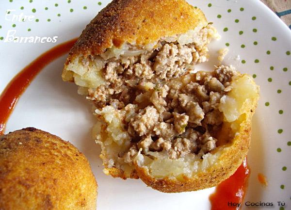 Hoy Cocinas Tú Papas Rellenas De Carne Gastronomía Cía