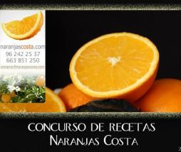 Concurso de recetas con Naranjas Costa