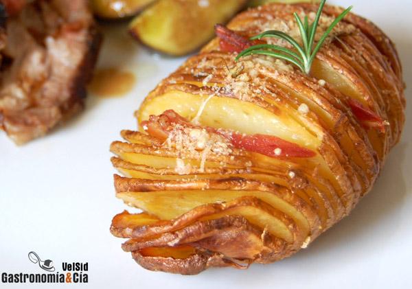 Patatas horneadas tiernas y crujientes