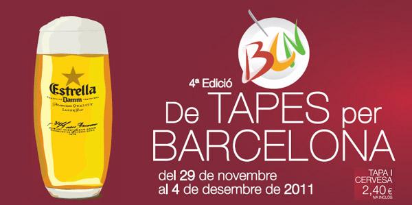De Tapes per Barcelona Diciembre 2011