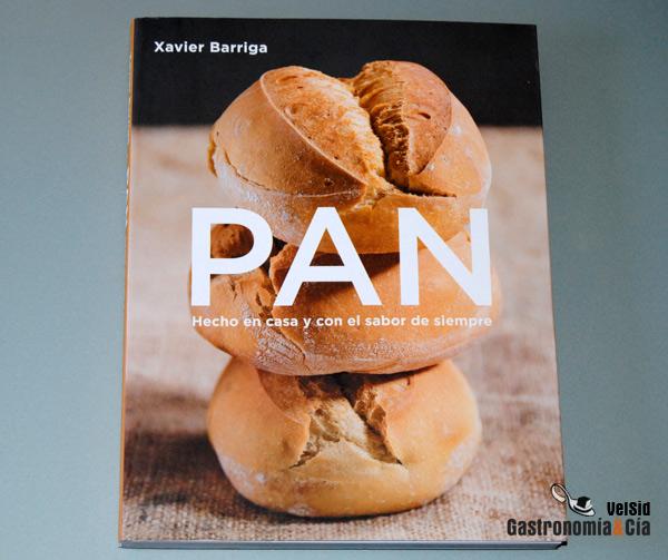 Libro de pan de Xavier Barriga