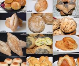Doce recetas de panecillos