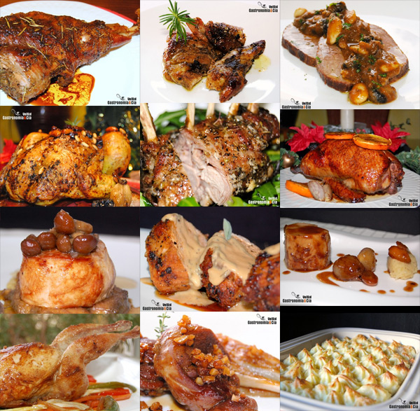 Food cooking around the world gastronom a y c a for Carnes para navidad