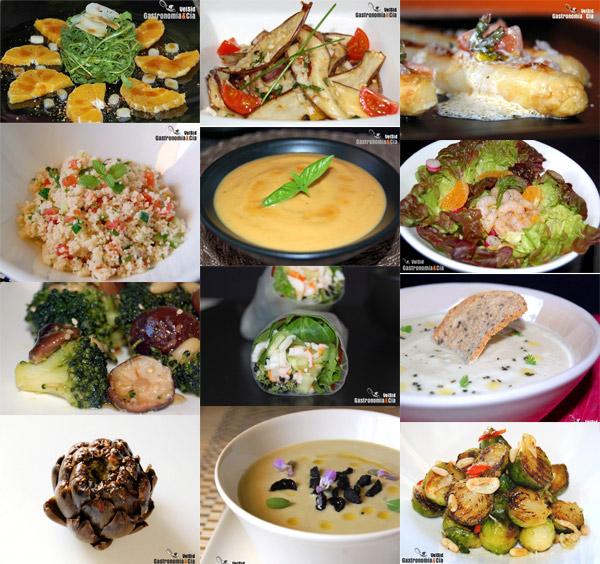 recetas de comida para cenas ligeras