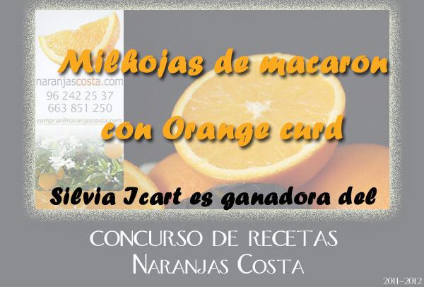 Receta ganadora del Concursode Mandarinas y Naranjas Costa