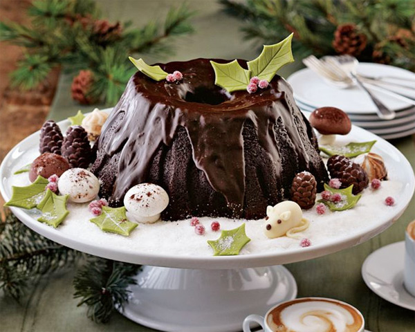 Stump de Noël Bundt® Cake Pan