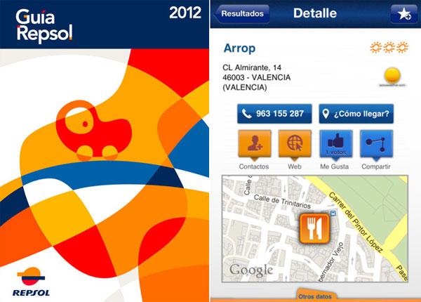Guía Repsol de España y Portugal para iPhone