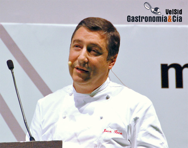 Grand Prix de l'Art de la Cuisine 2011 (Gran Premio del Arte de la Cocina) es para Joan Roca