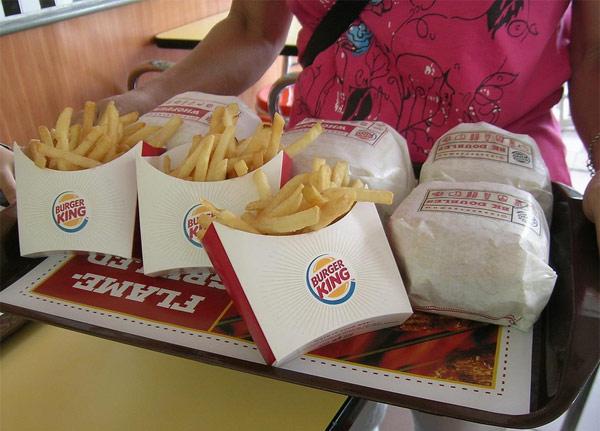 Fast food a domicilio